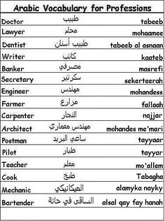 Arabic swear words