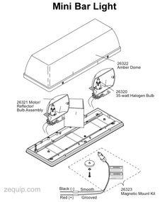 Fisher Mini Light Bar 26020-1