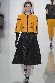 Michael Kors Calf length black skirt