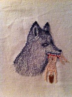 // Berta Salinas embroidery