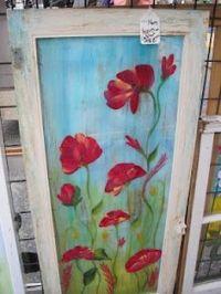 Painted Door Ideas on Pinterest | Decoupage Table, Painted ...