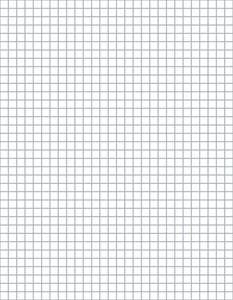 CROCHET ROUND GRAPH PAPER