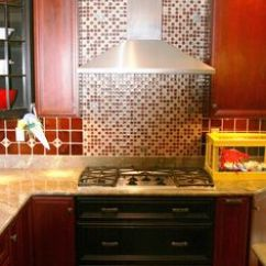How To Clean Grease From Kitchen Cabinets Kohler Faucets Parts Backsplash Behind Stove On Pinterest   ...