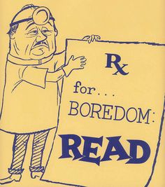 Vintage Ads for Libraries and Reading | Brain Pickings www.bibliotheeklangedijk.nl