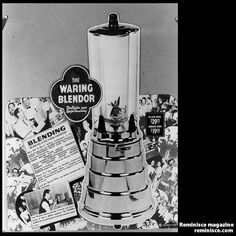 Waring Blender mixes up 75 years of memories: The Waring Blender has been whirring ever since its invention in the 1930s. Our collection of vintage ads celebrates 75 years of blending brilliance! reminisce.com