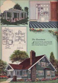 {old house plans} on Pinterest | Modern Homes, Kit Homes ...