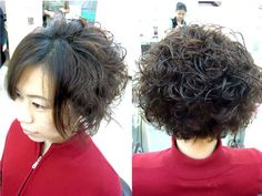 Permed Hair On Pinterest Spiral Perms Perms And Medium