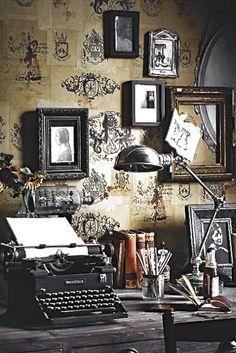 #vintage #interior #inredning #skrivmaskin #typewriter