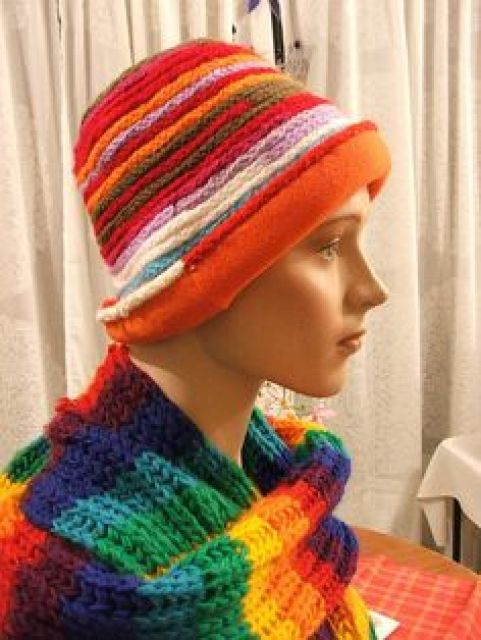 French knitting hat