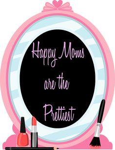 Happy Moms are the Prettiest!
