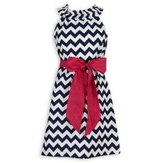25863070dc449 ... as we looked over the clothes at Lolly Wolly Doodle, we both found that  we liked the navy chevron dress that they had, so we could get matching  dresses!