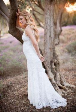 vestido noiva grávida