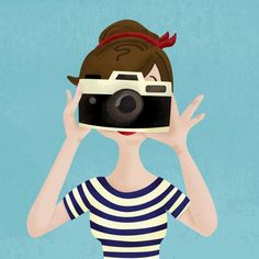 illustration by Melissa Eagan   #camera
