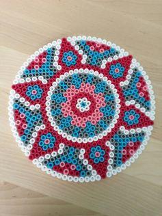 Hama perler bead mandala by Thea P.
