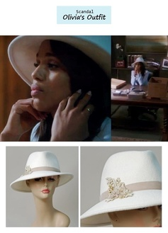 """Scandal Season Finale 222: Olivia Pope's (Kerry Washington) Louise Green """"Danny"""" in winter white #tvfashion #outfits #fashion #style"""
