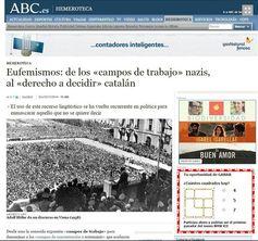 El passotisme de l'estat espanyol amb la catalanofòbia arriba a l'ONU - directe.cat, 22 DE GENER DE 2015. L'associació d'advocats voluntaris Drets cansats que la justícia espanyola no actuï per defensar els drets dels catalans davant la creixent catalanofòbia ha interposat una demanda al Consell de Drets Humans de l'ONU alertant que a l'Estat espanyol s'ataca sistemàticament els catalans sense que l'Estat intervingui, fet que constitueix un abús evident del dret a la llibertat d'expressió.