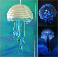 Creative Jellyfish Lamp