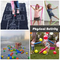 Active things to do with preschoolers
