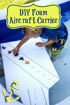 DIY Foam Aircraft Carrier