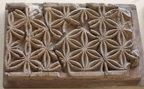 Assyrian wall decoration