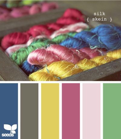 silk skein from Design Seeds