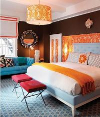 Ideas for Bedroom Decor: Hot Pink and Black and White ...