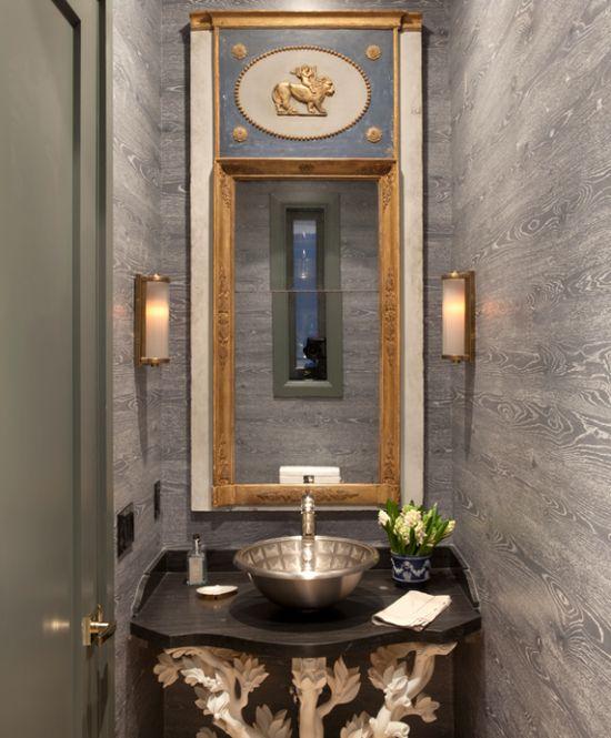 Stunning Powder Rooms FigInteriorsca