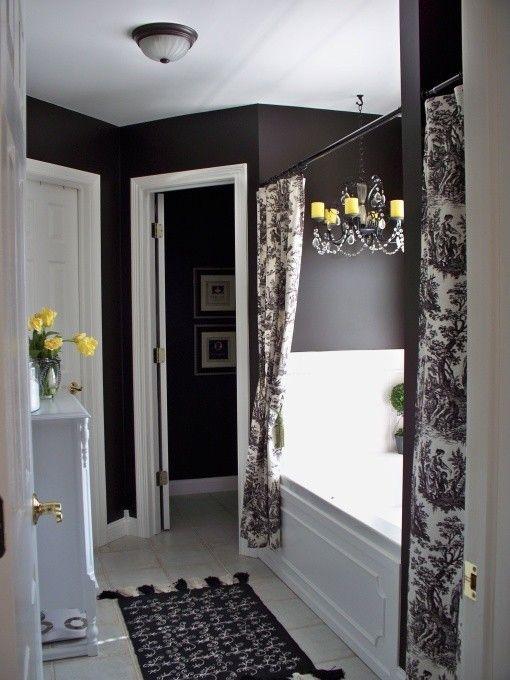 Yellow And Brown Bathroom Decor