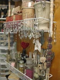 My Beautiful Flowers Collections: shabby chic craft room ...