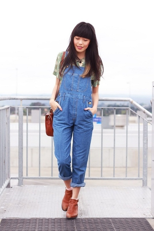 Over the Moon for Overalls