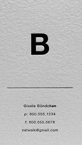 My Graphic Design Collections: Minimalist card, black ink