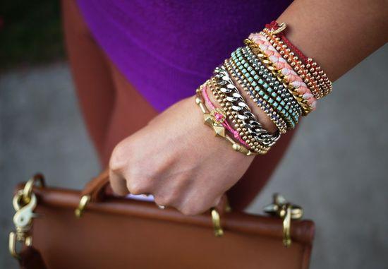 Bracelets été 2013 Tendances