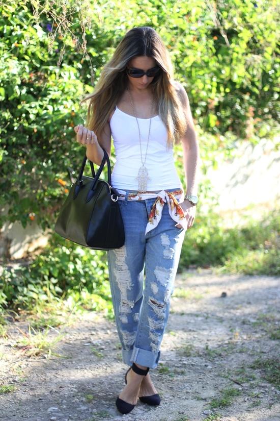 Boyfriend jeans blog
