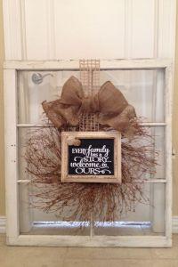 Old windows, Window and Repurposed on Pinterest