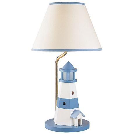 Lighthouse Night Light Table Lamp