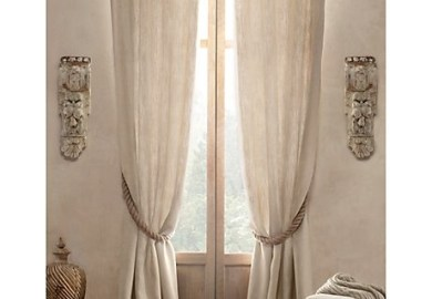 Linen Window Treatments