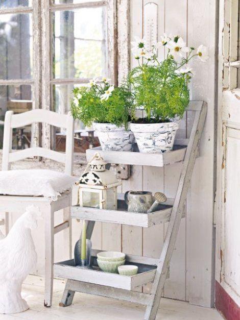 il giardino shabby chic | guida giardino - Arredamento Esterno Shabby