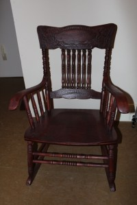 Refinishing a 100 year old rocking chair | Old Rocking ...