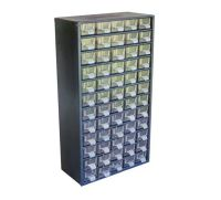 Large Industrial Chic 60 Drawer Cabinet - Parts Organizer ...