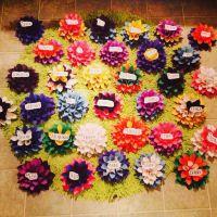 RA Door Dec/ Tag flowers | RA Stuff | Pinterest