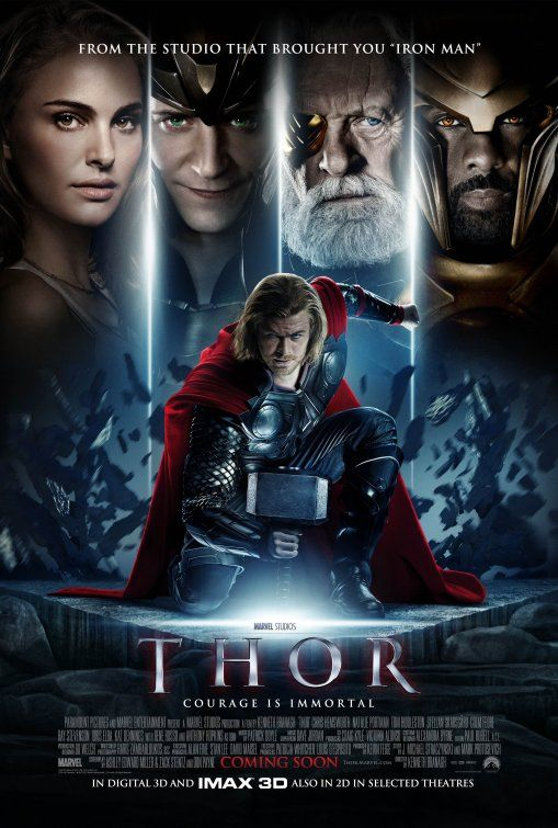 Thor Movie Poster #5 - Internet Movie Poster Awards Gallery