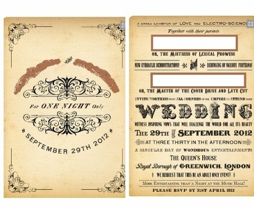Funny Wedding Invitation Wording For Friends From Bride And Groom