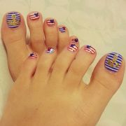 toenail design disney joy