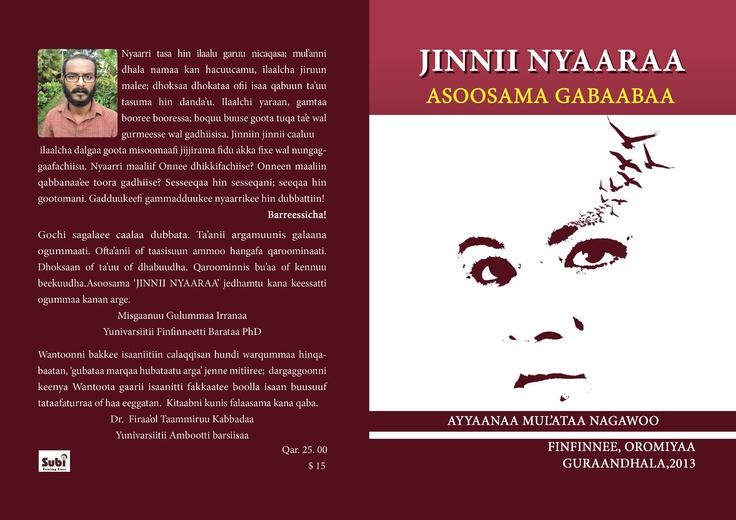 Creative (novel) writing in Oromo, Jinnii Nyaaraa
