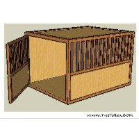 Wooden dog crate furniture for your home   Wooden dog ...