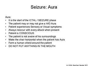 Seizure Aura   Health & Wellness Tidbits   Pinterest