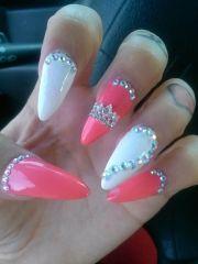 swarovski crown - nail art claws