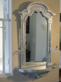 bling bathroom mirrors bling mirror