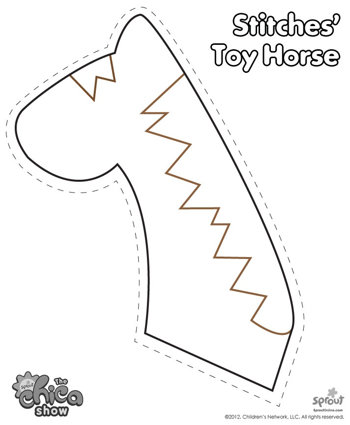 Horse Head Templates For