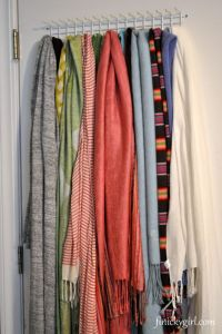 Scarf storage | SCARF Storage | Pinterest